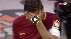 Francesco Totti ha voluto salutare i suoi tifosi insieme a tutta la sua famiglia: Ilary Blasi e i tre figli, che ha abbracciato durante la festa...