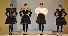 Divat a magyar! Gombold  újra! – öltözéktervezési kiállítás. Ethnic, Folk, Bride, Inspiration, Dresses, Style, Fashion, Wedding Bride, Biblical Inspiration