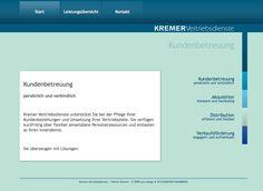 Webdesign aus dem Jahr 2008