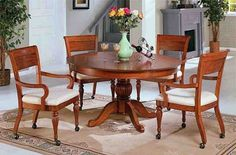 Dining Room Chairs With Rollers  Home  Dining Room Furniture Adorable Dining Room Chairs On Wheels Design Decoration