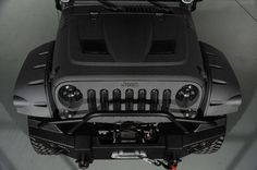 2014 Jeep Wrangler Unlimited 4x4 SUV 4 Door: Custom Hood and Hood Latch