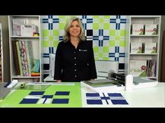 Lynn shares how easy it is to make the GO! Add It Up Quilt pattern! Download your free pattern here: http://www.accuquilt.com/shop/go-add-it-up-bed-quilt-pattern.html