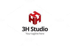 H Logo - H Studio by LogoVibe on @creativemarket