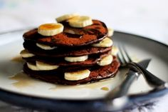Me Encanta el Chocolate: PANQUECAS DE CHOCOLATE LIGHT
