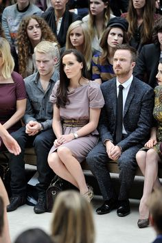Burberry Spring Summer 2013 Womenswear Show - Front Row - Pictures - Zimbio