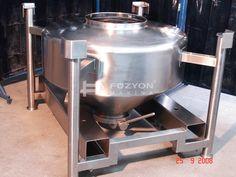 Flowbin Tank - 400 litre IBC flowbin Konteyner | Füzyon Makina