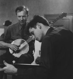 Mike Seeger and Pete Seeger