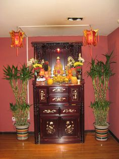 Buddhist home shrine. | The Internet President: None of the Above ...