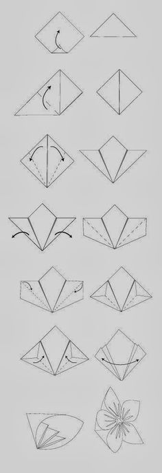 Get Busted@All Times: Origami Flower Tutorial.........