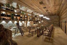 idée de déco de cave à vins