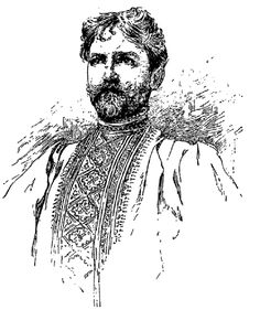 Portrait of Mucha by itself - Alphonse Mucha