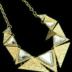 2 gold necklace Gold fashion statement necklace Jewelry Necklaces