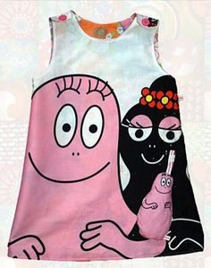 Barbabapa dress, made by Mamalore. http://www.hippeshops.nl
