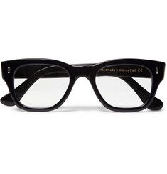 Cutler and GrossTwo-Tone Square-Frame Optical Glasses