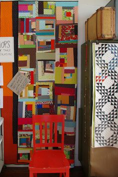Improv Quilt from the Denyse Schmidt Sample Sale by Red Pepper Quilts