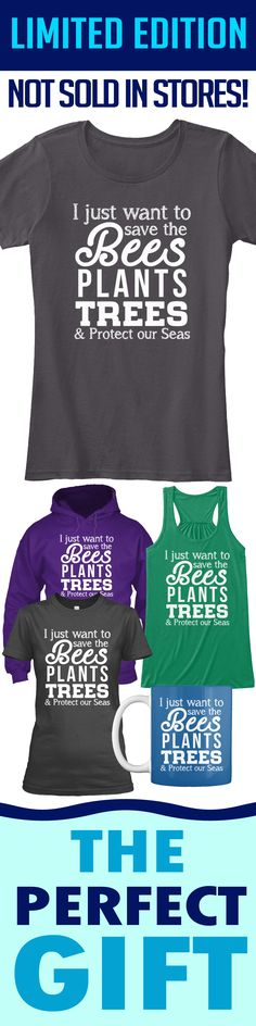 Earth Day T-Shirt - Limited edition. Order 2 or more for friends/family & save on shipping! Makes a great gift!