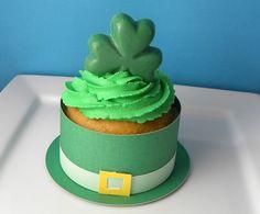 st patricks day cupcake wrapper