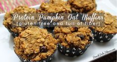I am trying to switch over to a more healthier diet and this includes snacks. I am going to give this one a try.   Beach Babe Fitness: Pumpkin & Protein Oatmeal Muffins (Gluten Free)