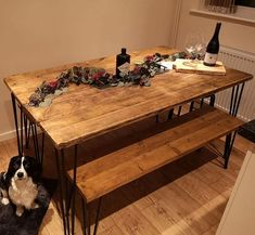Updated table top I made for @denhamhyde and @abzjohns in @osmo_uk honey finish.