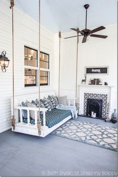 Home renovation not only helps in enhancing the overall appearance of the living place but also adds strength to the property. Astounding Home Renovation Ideas Interior and Exterior Ideas. Home Renovation, Home Remodeling, Old Southern Homes, Wooden Beams Ceiling, Ceiling Fan, Decoration Table, Shabby Chic Homes, Shabby Chic Furniture, Luxury Furniture