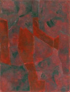 Serge Poliakoff (Russian, 1900-1969), Composition abstraite, 1960. Gouache on paper, 62 x 47 cm.