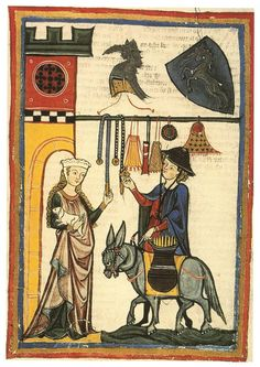 Purses in the Manesse Codex  Diskussion om...