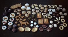 My Christmas Baking 2014 Kinds Of Cookies, Christmas Baking, My Recipes, Chocolate, Desserts, German, Food, Deutsch, Meal