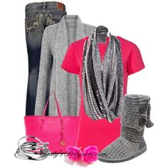 Think Pink!!!, created by cindycook10 on Polyvore