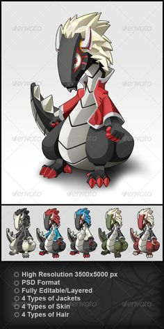 Buy Dragon by vusmac on GraphicRiver. Dragon designed as a pet, identification of a website or a video game character. Their use is limited by the imaginat. Design Art, Graphic Design, Illustration Art, Vector Illustrations, Indesign Templates, Dragon Design, Video Game Characters, Art Photography, Pets