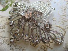 King Victorian style Swarovski rhinestones by weddingvalle on Etsy, $38.99