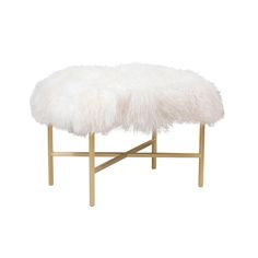 Custom Long Furry Bench Can Be Custom Sized And Color Fur