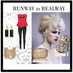 """RUNWAY to REALWAY"" by keerat-welham on Polyvore"