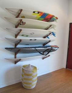 COR is the leader in Surf and Paddleboard Accessories. From Surf and SUP Racks to an array of accessories like our new Waterproof Dry Bag Backpack Surfboard Wall Rack, Surfboard Storage, Skateboard Rack, Surfboard Decor, Skateboard Wheels, Beach House Style, Beach House Decor, Home Decor, Surf Style Home