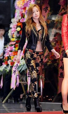 Taeyeon love her pants and jacket