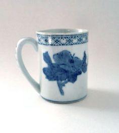 Williams Sonoma Coffee Cup  #Coffee #Vintage #Floral