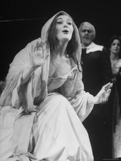 "Opera Singer Joan Sutherland in the Title Role of ""Lucia Di Lammermoor"" at the Metropolitan Opera"