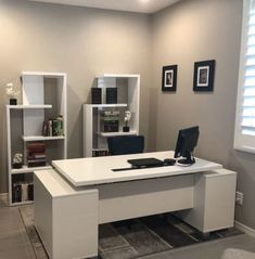How to Buy the Best Home Office Furniture Office Table Design, Office Furniture Design, Office Interior Design, Office Interiors, Medical Office Interior, Modern Home Office Furniture, Executive Office Furniture, Furniture Layout, Contemporary Office Desk