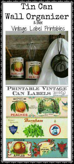 Kitchen label