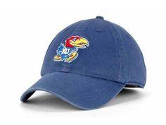 "Kansas Jayhawks NCAA 47' Brand ""Franchise"" Fitted Hat New"