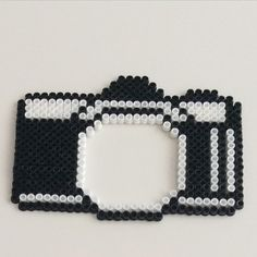 Camera frame hama beads by handeninhobisi