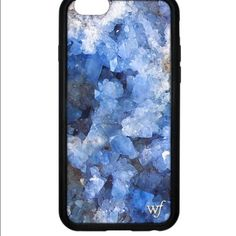 iPhone 6/6s Wildflower phone case iPhone 6/6s blue crystal phone case bought from wildflowercases.com. It's brand new hasn't even been on my phone, I bought it and decided I wanted something else. Wildflower Accessories Phone Cases