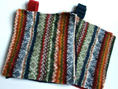 recycled wool hotpads