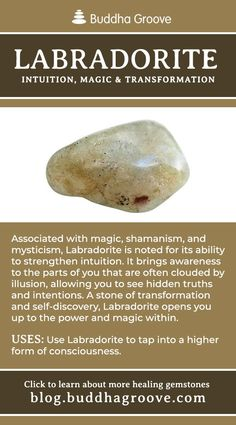 Labradorite - Intuition, Magic, and Transformation