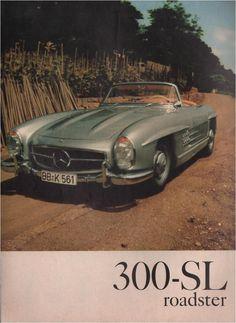Paper Gallery Collectibles - Original 1957 Mercedes-Benz 300 SL Roadster Car Vintage Magazine Print, $9.99 (http://www.papergalleryprints.mybigcommerce.com/1957-mercedes-benz-300-sl-roadster-car-magazine-print/)