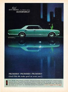 Mine was blue too. Except it was a hurst 4 on the floor, chrome wheels.     1966 Oldsmobile Delta 88. Ours was light blue