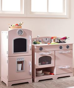 classic playtime 2 pc classic wooden play kitchen set gray kids rh pinterest com  wood play kitchen set seattle