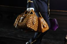 Louis Vuitton Fall Winter 2012 Bags Preview   Love the first one!