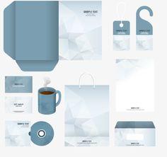 Enterprise VI design vector office supplies