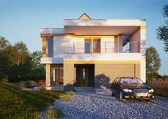 Przedstawiany nasz najnowszy projekt LK&1279 - przestronny dom jednorodzinny.   #lkprojekt #dom #homesweethome #mieszkajpieknie