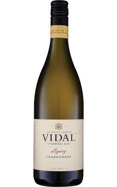 Vidal Legacy Chardonnay 2016 Hawke's Bay - 6 Bottles Creamy Polenta, Organic Wine, Wine Label Design, Roasted Nuts, Sustainable Farming, Shades Of Green, Wine Tasting, Wine Australia, Bottles